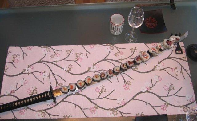 Reseptikuva: Pohjoisen ystävän sushi - Hoku yu sushi 2