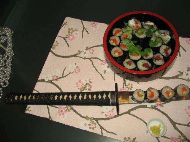 Reseptikuva: Pohjoisen ystävän sushi - Hoku yu sushi 1