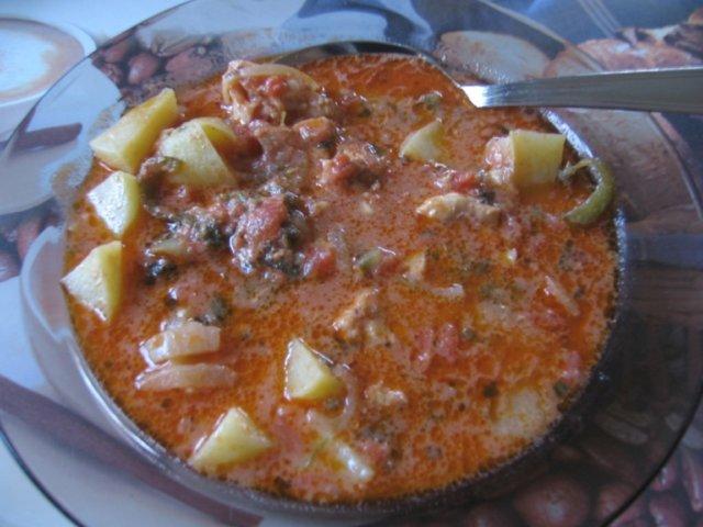 Reseptikuva: Sopa de pescador eli kalakeitto portugalilaisittain 1