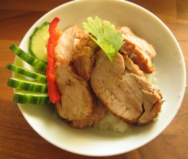 Grillattua porsaan sisäfilettä kiinalaisittain
