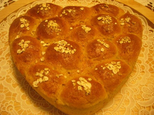 Leipää Munajuustoherasta 2