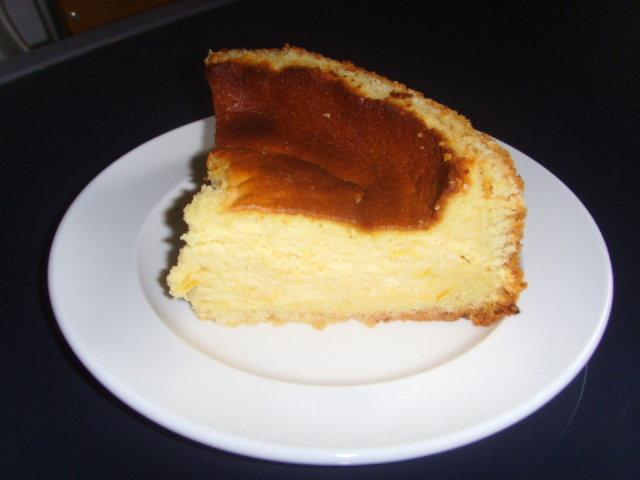 Reseptikuva: Kevyempi persikkainen juustokakku 1