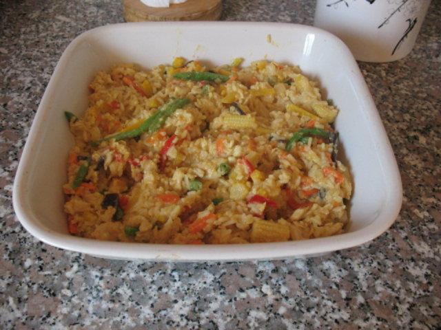 Kana Riisi Resepti