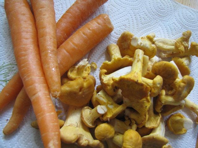 Reseptikuva: Porkkana/Kanttarelli Lisuke 4