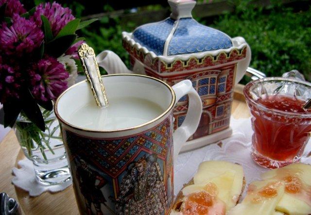 Apilankukkatee juustoleivillä ja Pålan ruusuhillolla 2