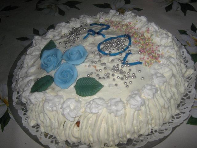 70v-vuotiaalle Syntymäpäiväkakku 1