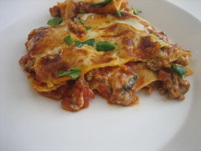 Perinteinen lasagne 1