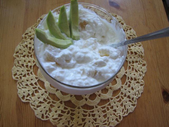 Reseptikuva: Ananas / Avokado / Raejuusto 2