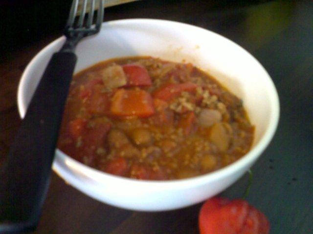 Chili con Carne (EXTRA TULINEN) 1