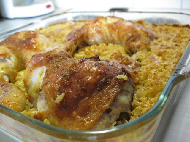Riisi Uunissa