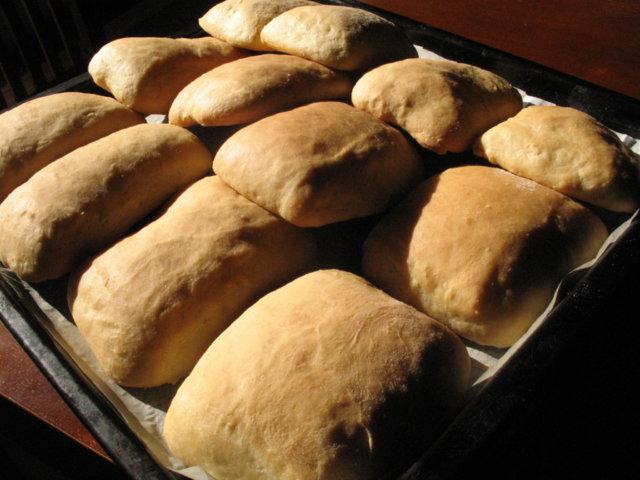 Ciabatta sämpylät/leipä 1