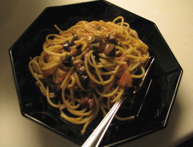 Pasta Puttanesca 1