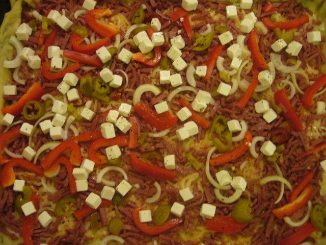 Reseptikuva: 4 erilaista pizzaa 5