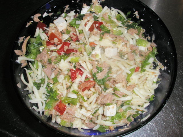 Salaatti illanistujaisiin 2