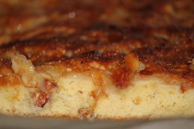 Toscainen omenapiirakka, pellillinen