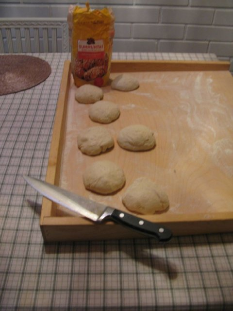 Langoše - paistetut leivät 2