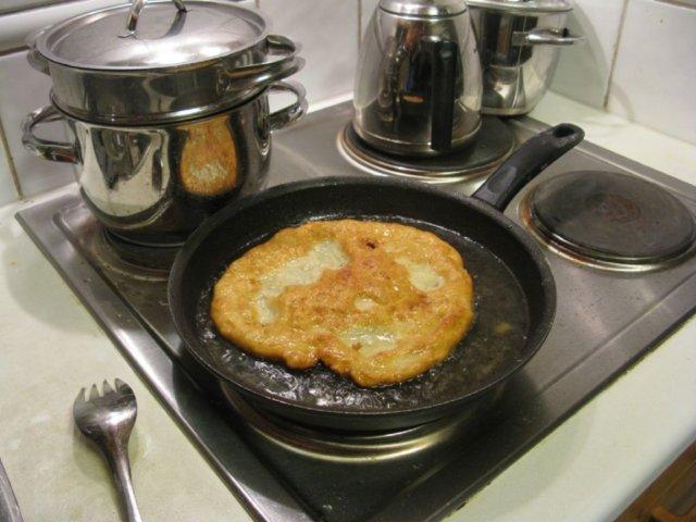 Langoše - paistetut leivät 4