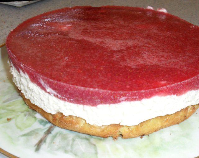 Mansikka-juustokakku / Strawberry Cheese Cake 2