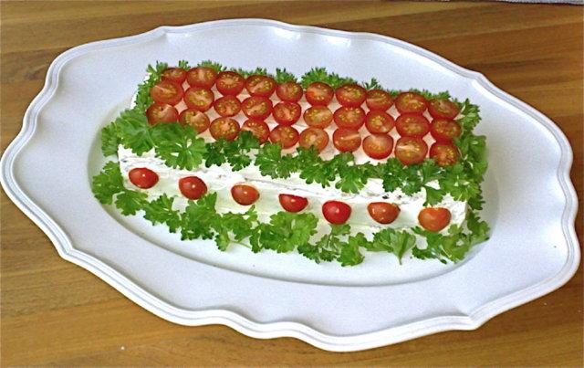 Reseptikuva: Voileipäkakku Auralle (pesto tomaatti) 1