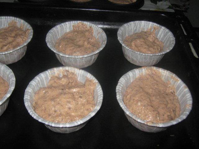 Mehevät suklaamuffinit 5