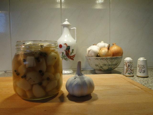 Reseptikuva: Hunajaiset valkosipulinkynnet 1