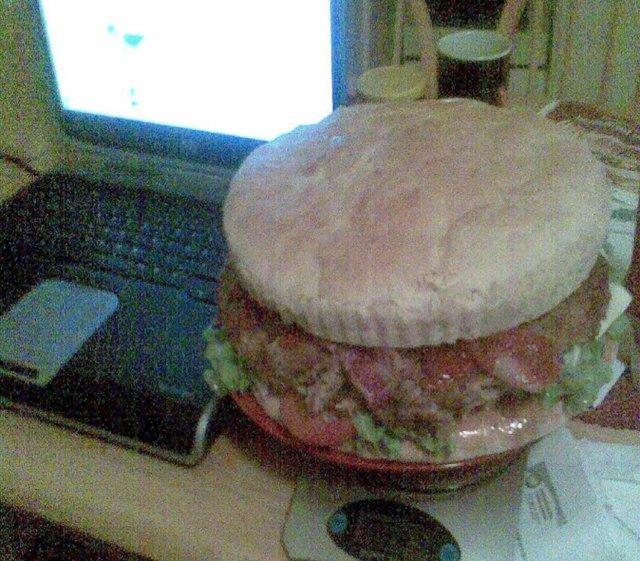Mäsäytys burgeri (Sydämmen pysäyttäjä) 1