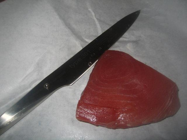 Tonnikalamunakas tuoreesta tonnikalasta 2