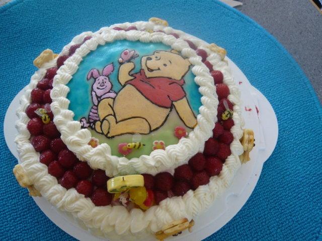 Reseptikuva: Mansikka Nalle Puh kakku 1
