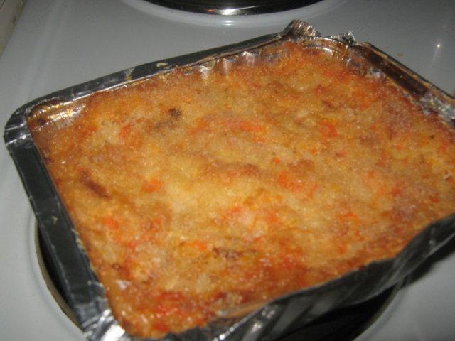 Porkkanalaatikko 1