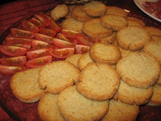 Parmesan-keksit 1