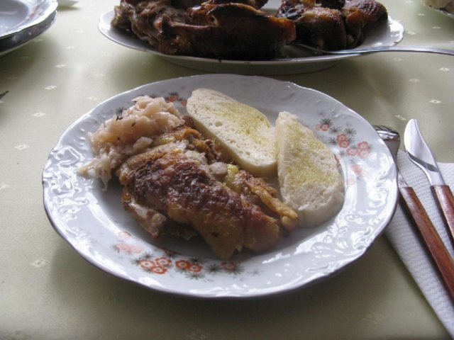 Pečená kačica - paistettu ankka 1