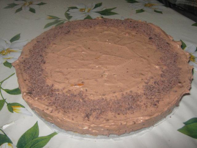 Suklainen appelsiini-tuorejuustokakku 2