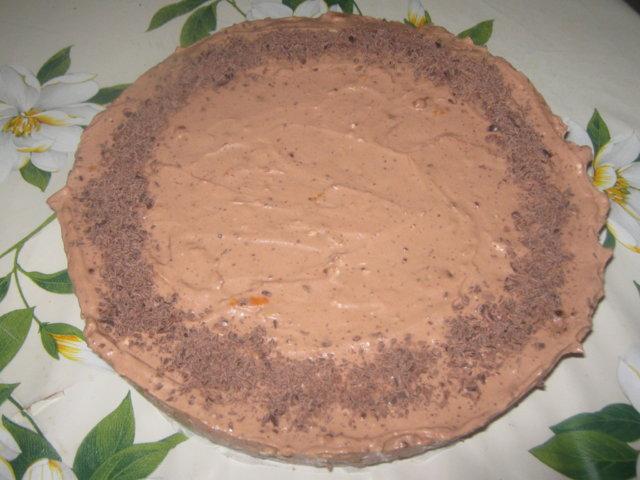 Suklainen appelsiini-tuorejuustokakku 3