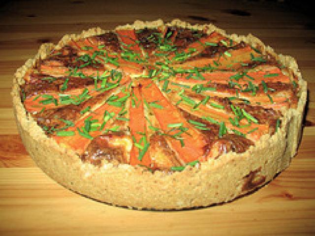 Porkkana Piirakka (Quiche)