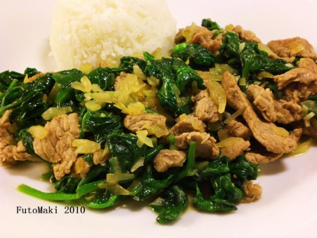 Reseptikuva: Beef & Spinach 1
