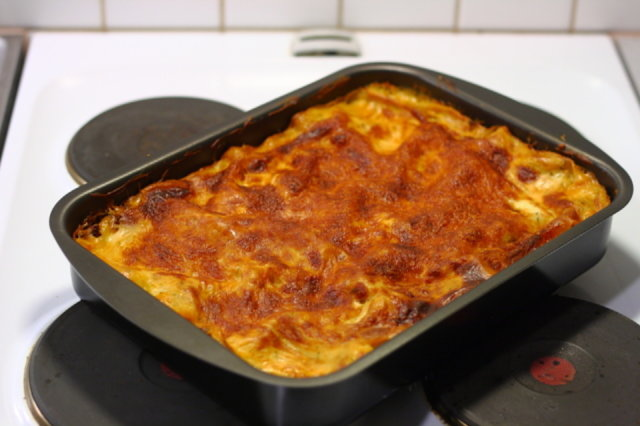 Soijarouhe lasagne