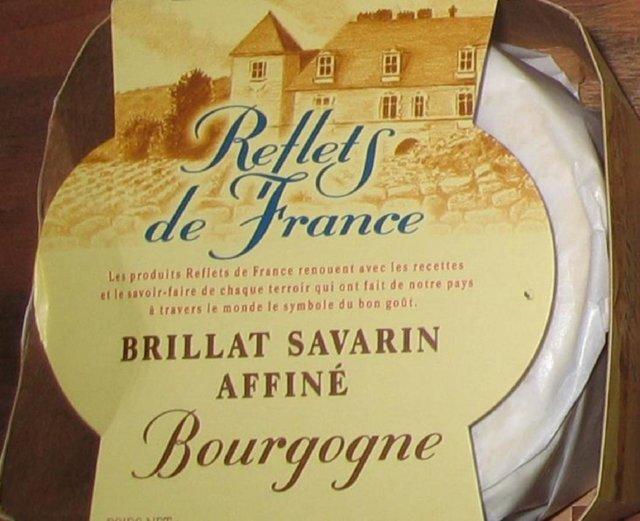 Brillat-savarin juustoa ja shampanjaa