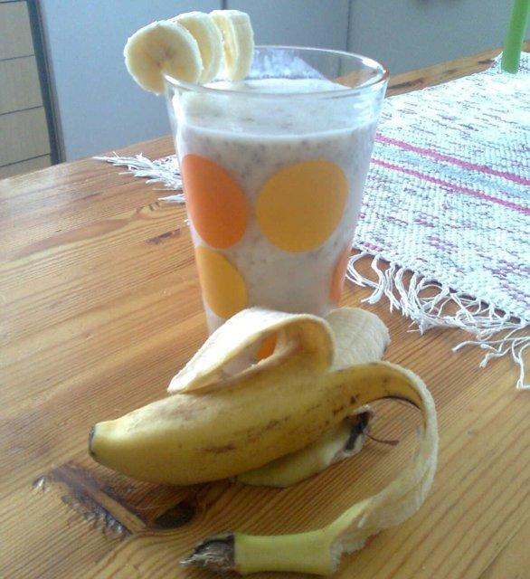 Reseptikuva: Banaanijuoma 1