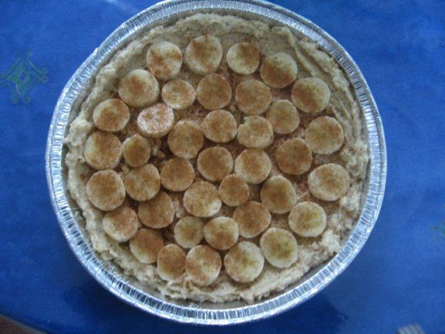 Banaani-rahkapiirakka 3
