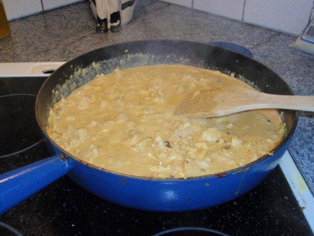 Reseptikuva: Kana-ananas pasta 1