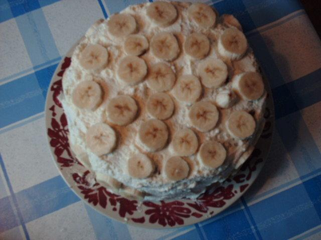 Banaani-suklaa kakku 2