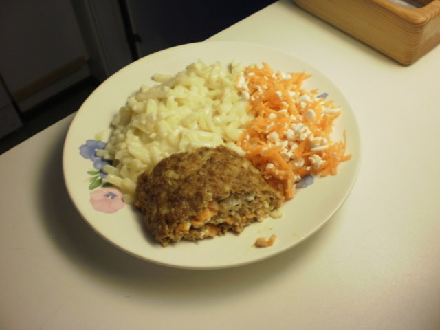 Reseptikuva: Täytetty jauhelihamureke 1