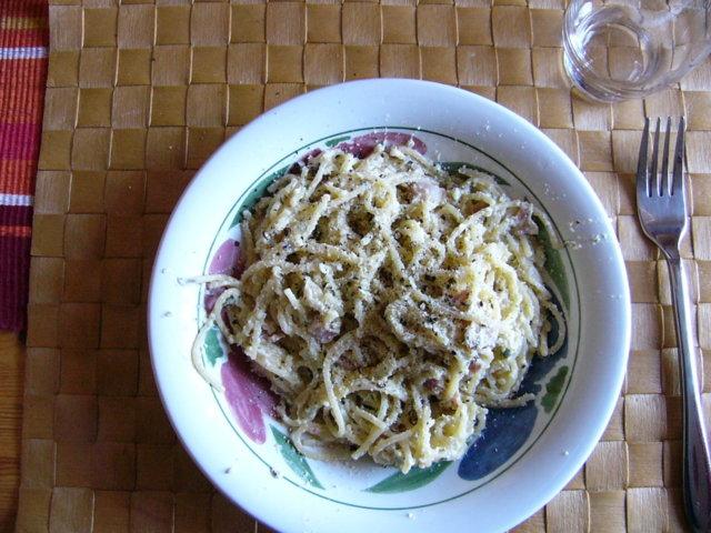 Miilunpolttajan-spagetti