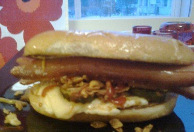 Reseptikuva: Sunday Hot Dog 1