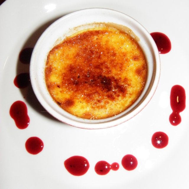 Creme brulee, marjamelballa 1