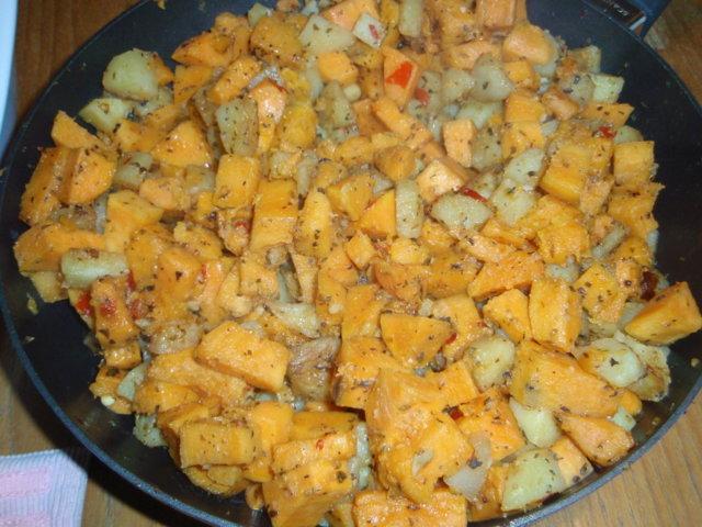 Reseptikuva: Bataatti-peruna -lisuke 1