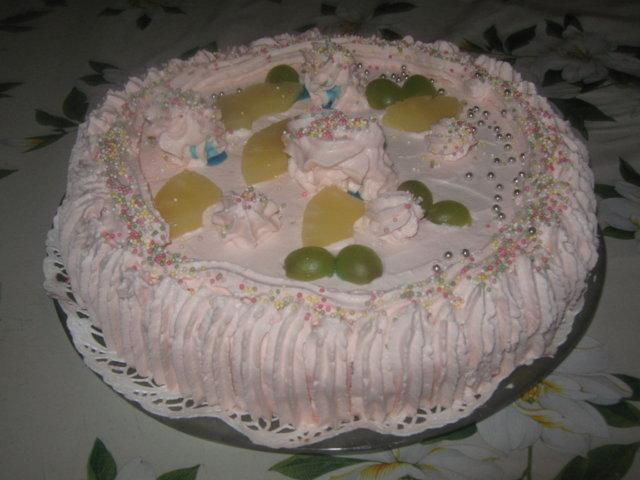 Reseptikuva: Syntymäpäiväkakku 2 3
