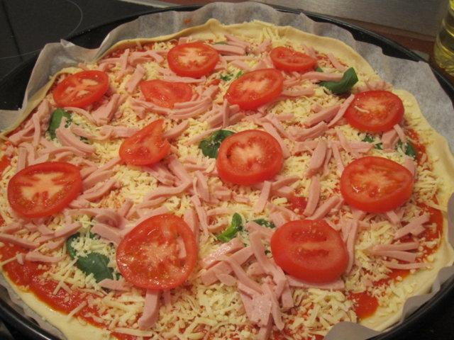 Reseptikuva: Beckhamin pizza 2