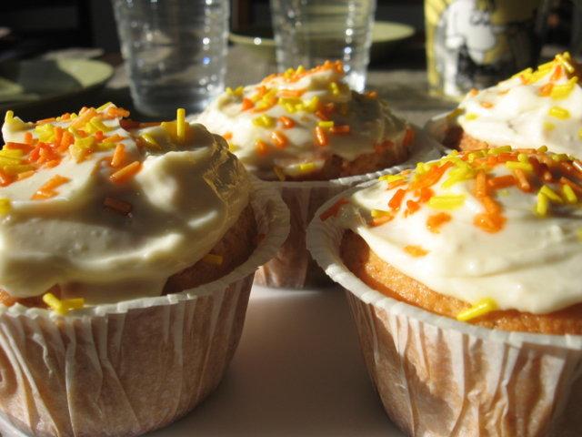Sitrus-cupcake
