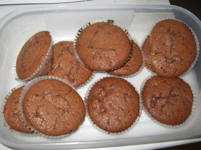 Daim-suklaa muffinit 1